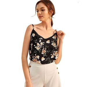 Tops - NWT FLORAL CAMI